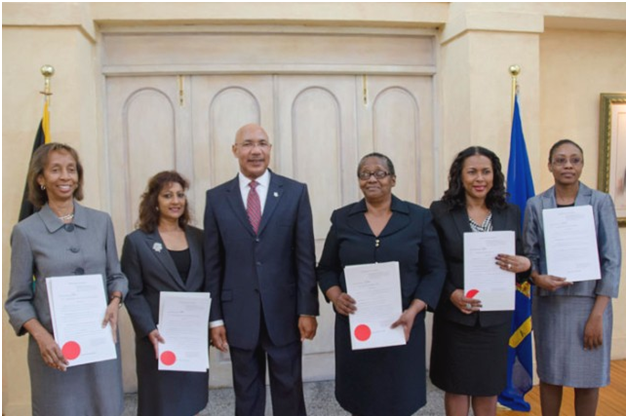 Five Women Judges Sworn to Office
